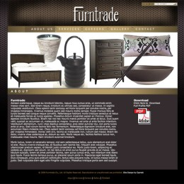 Furntrade Website Design