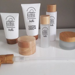 Baby skin care logo +packaging