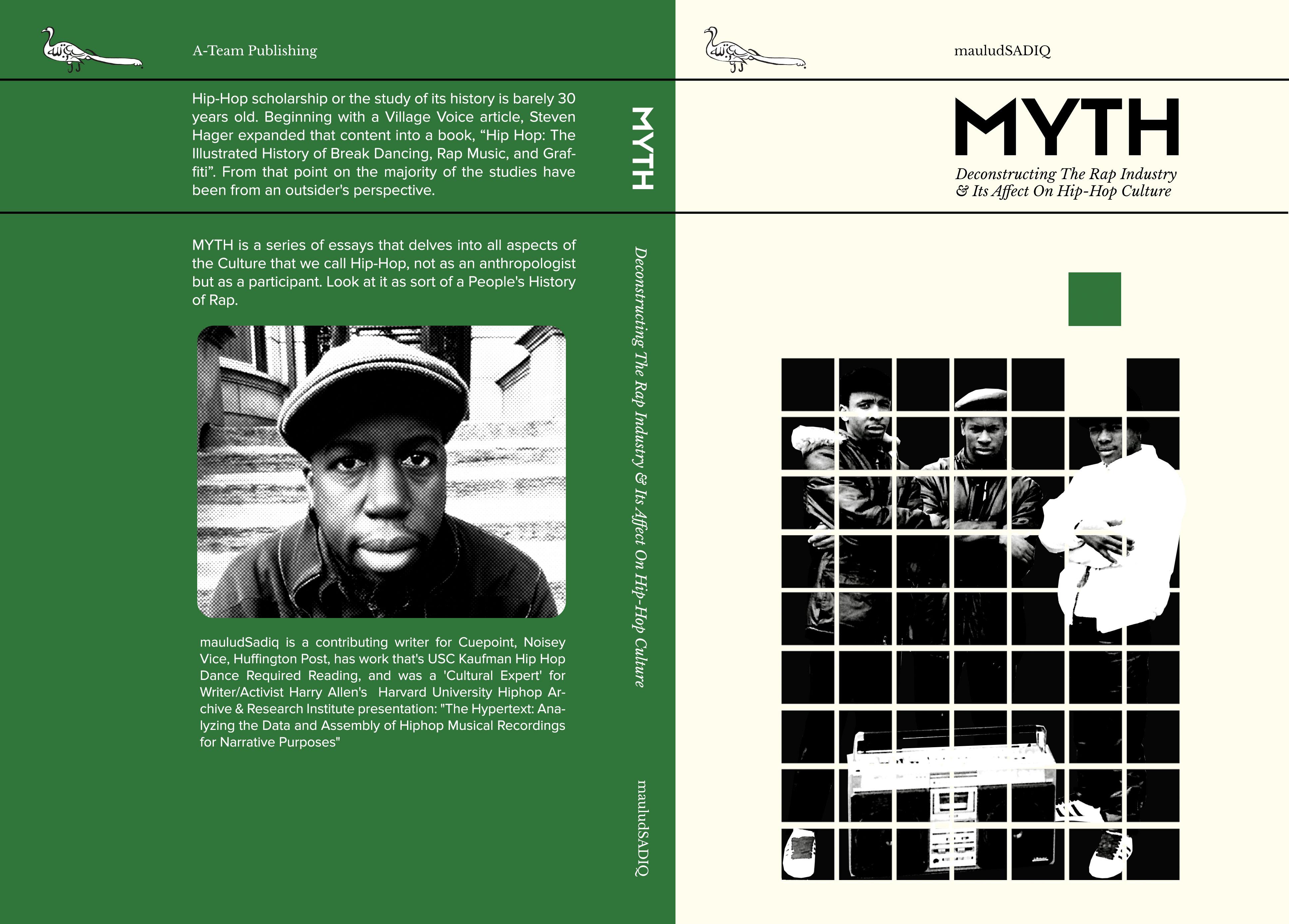 MYTH book cover design
